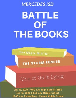 Mercedes ISD Battle of the Books MS and Elementary Edition ...